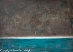 Acryl auf mehrfach grundierter 380g Leinwand, 50 x 70 cm