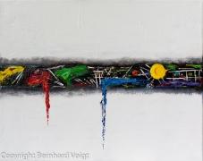 Acryl auf mehrfach grundierter Leinwand, 40 x 50 cm
