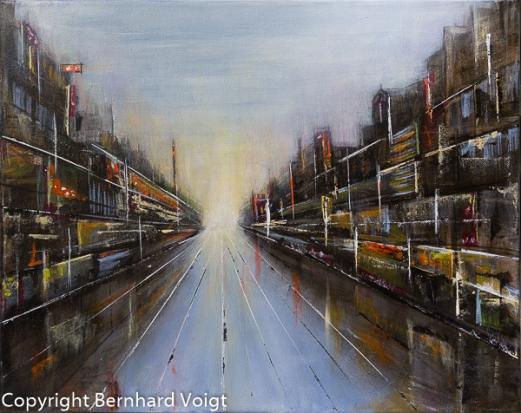 - Das Bild ist nicht mehr verfügbar – Painting not available anymore - Acryl auf mehrfach grundierter Leinwand, 40 x 50 cm