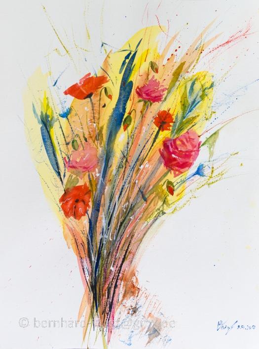 Sommerblumen I, Summer Flowers I