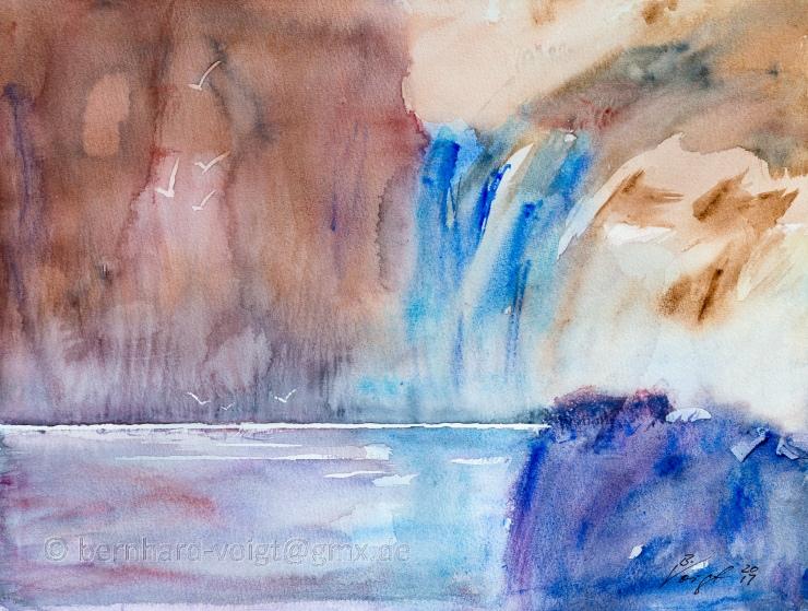 Seeblick II, Abstraktion - Sea Side View II, Abstraction