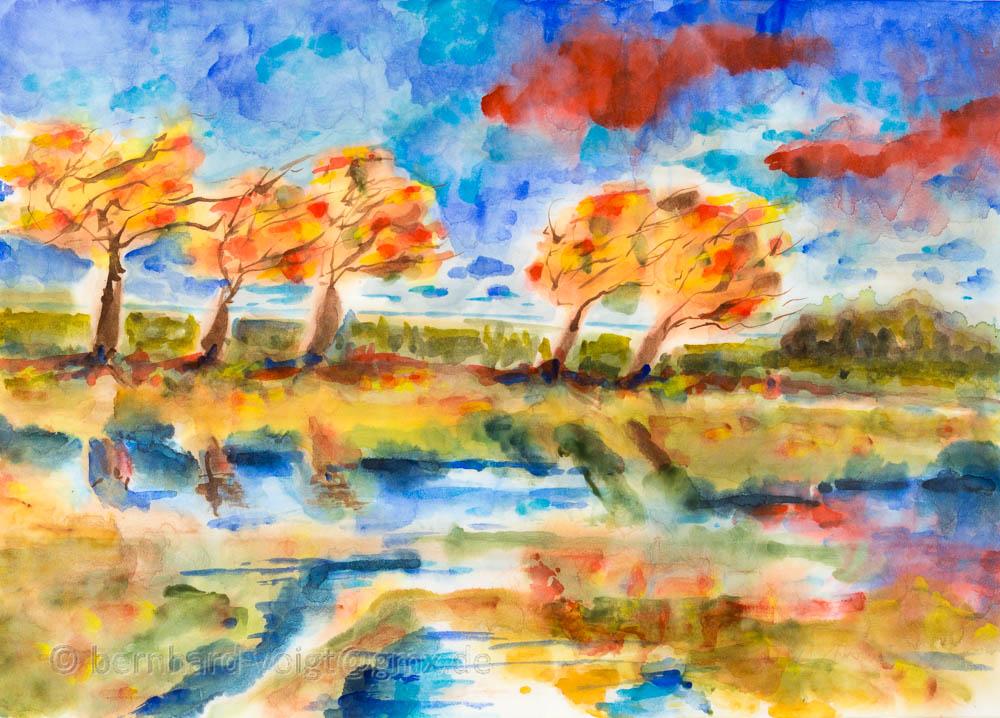 Herbststürme I, Autumn storms I