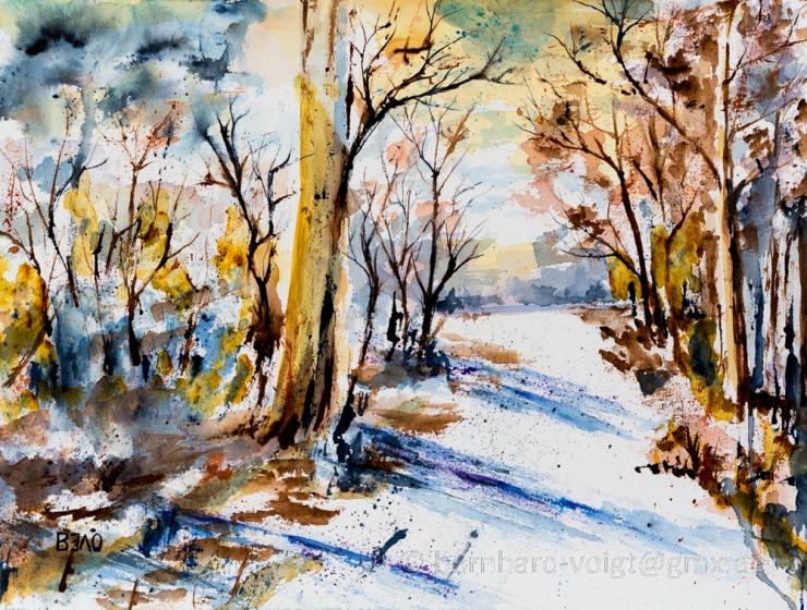 Erster Herbstschnee - First Snow In Autumn