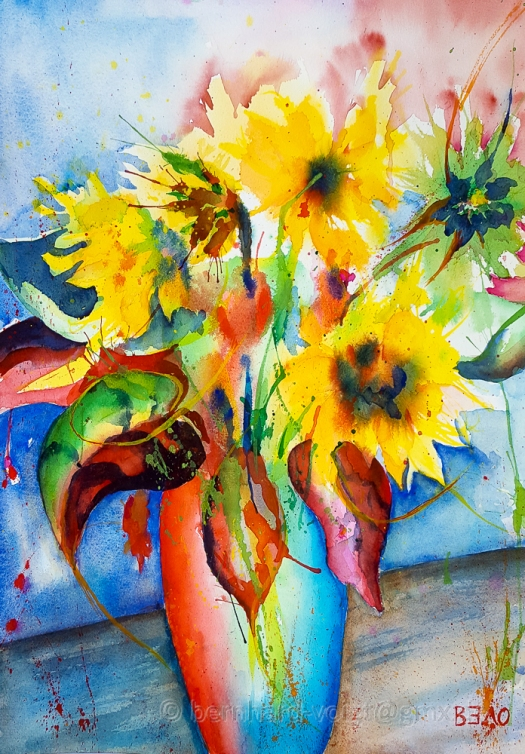 Sonnenblumen, Sun Flowers, Helianthus - III