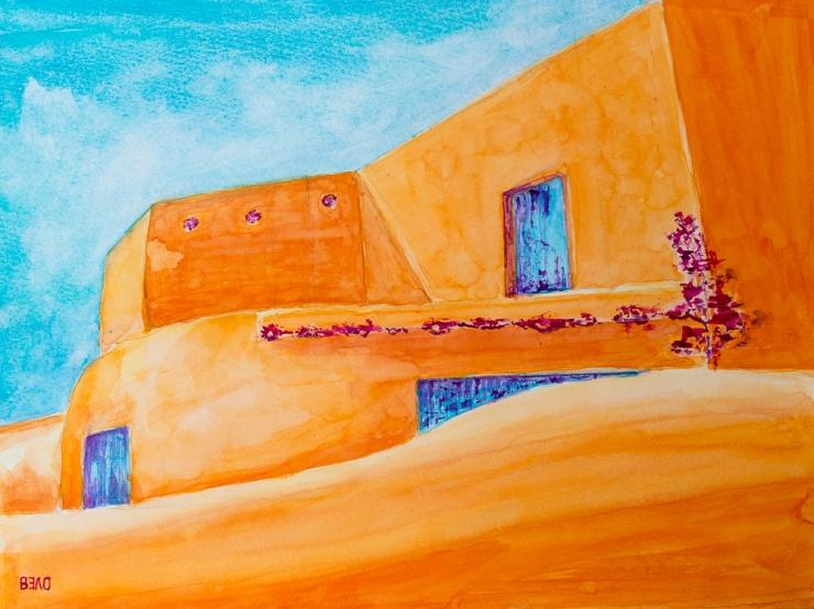 Lehmziegelhäuser in New Mexico I - Adobe Houses in New Mexico I