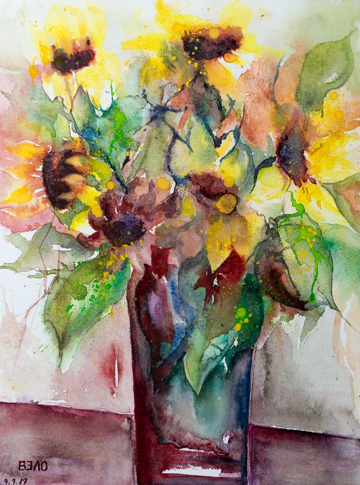 Sonnenblumenbouqet - Ein Hauch von Herbst, Sunflower bouquet - A Touch of Autumn
